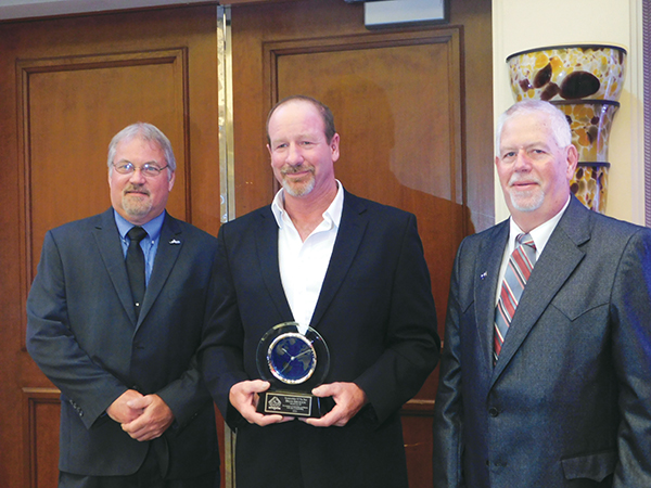 Brian Erickson (SD) was named the 2021 ACSA Snowmobiler of the Year.