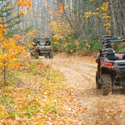 ORV's have legal use of trails most of the year.